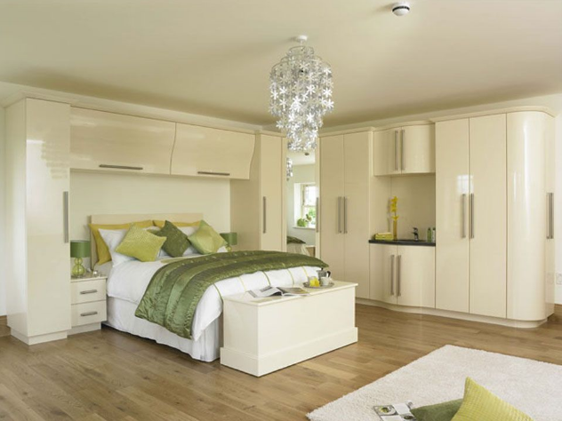Fitted Bedroom Fitted Wardrobes - Capital Bedrooms White Green