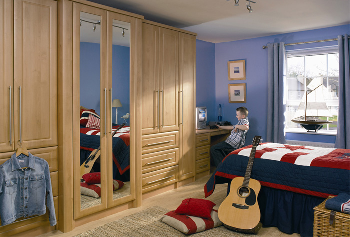 fitted wardrobes by Supreme Bedrooms